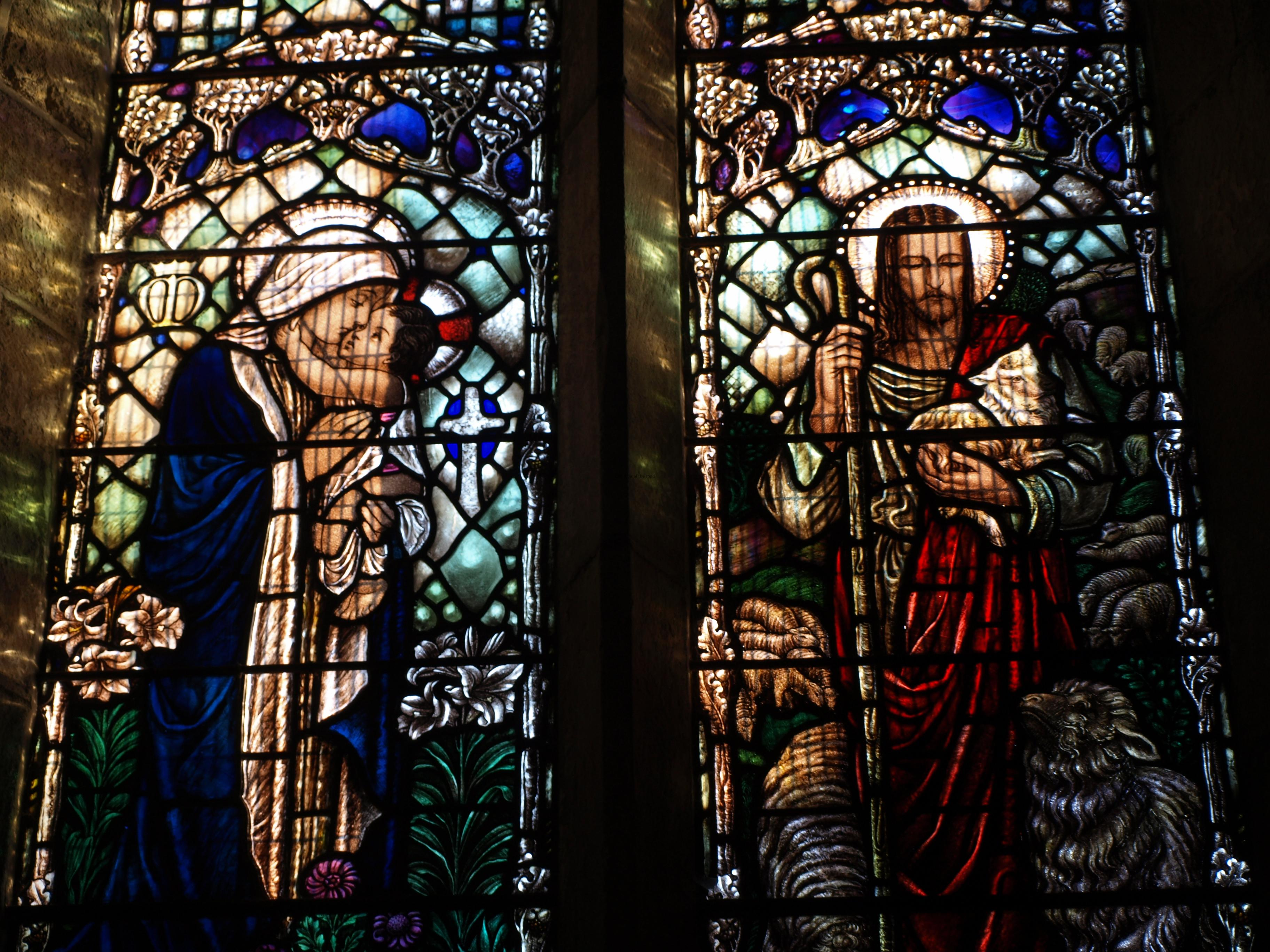 Stained Glass Window, St Andrew's Church, Grinton