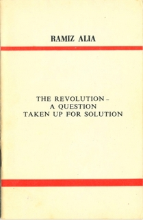 The Revolution - A question taken up for resolution
