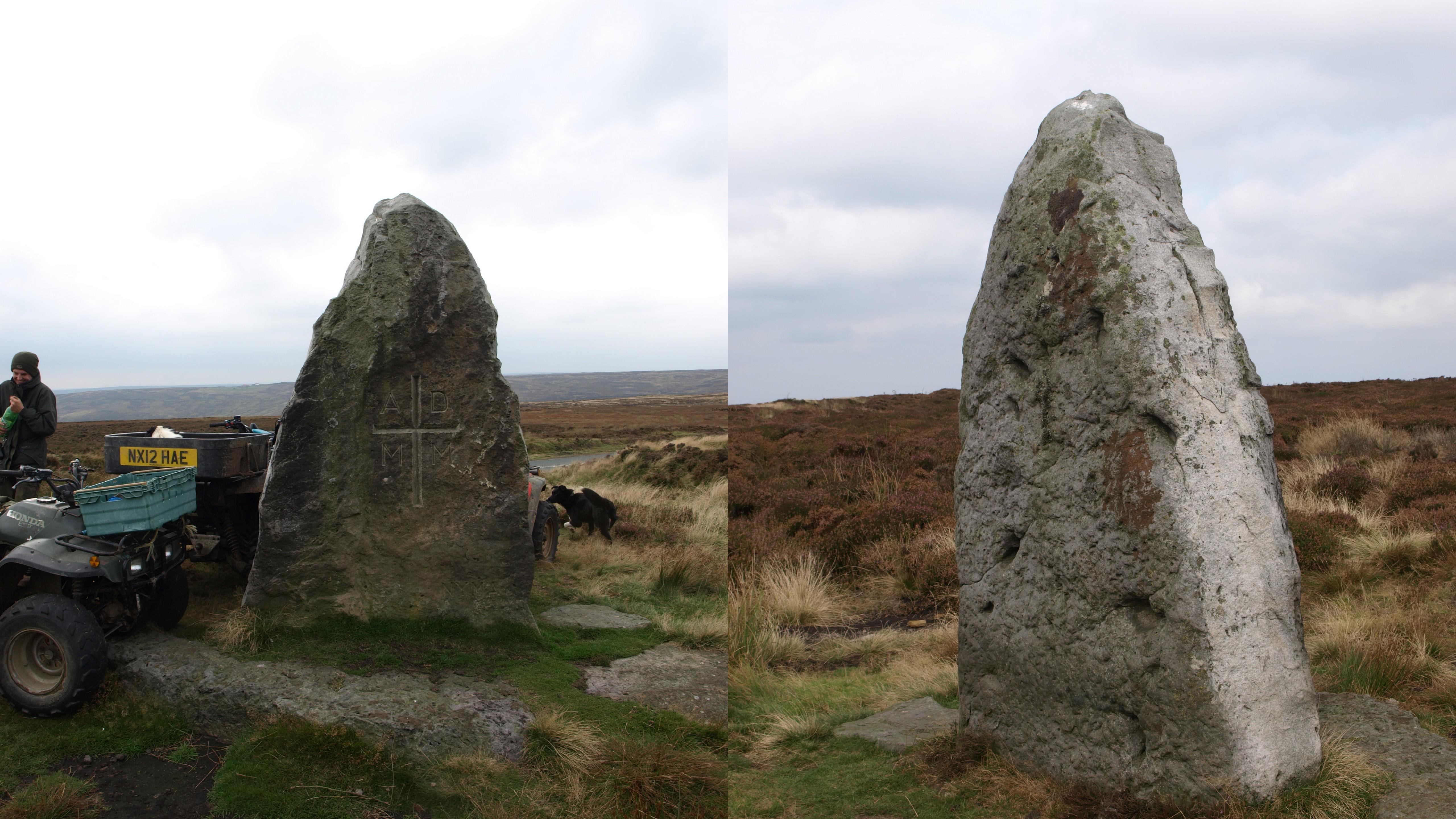Millenium Stone Danby Moor