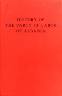 History of the Party of Labor of Albania - 2nd edition 1982