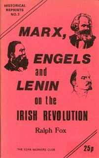 Marx, Engels and Lenin on the Irish Revolution