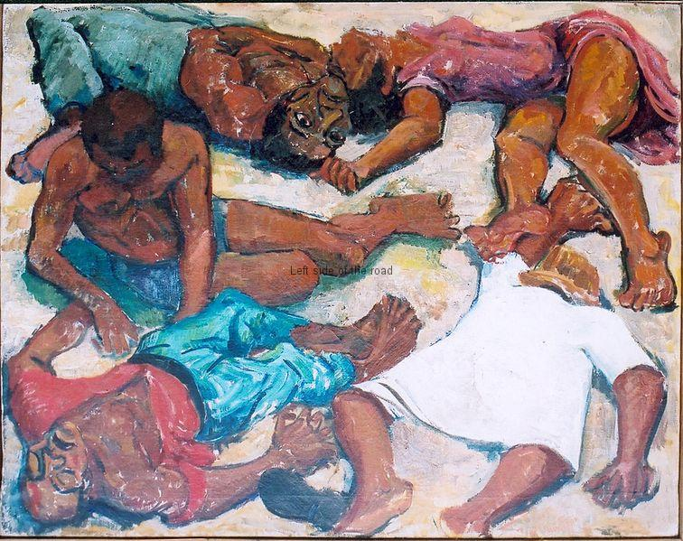 Murder at Sharpeville 21 March 1960 - Godfrey Rubens
