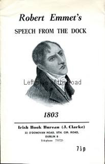 Robert Emmet's Speech from the Dock