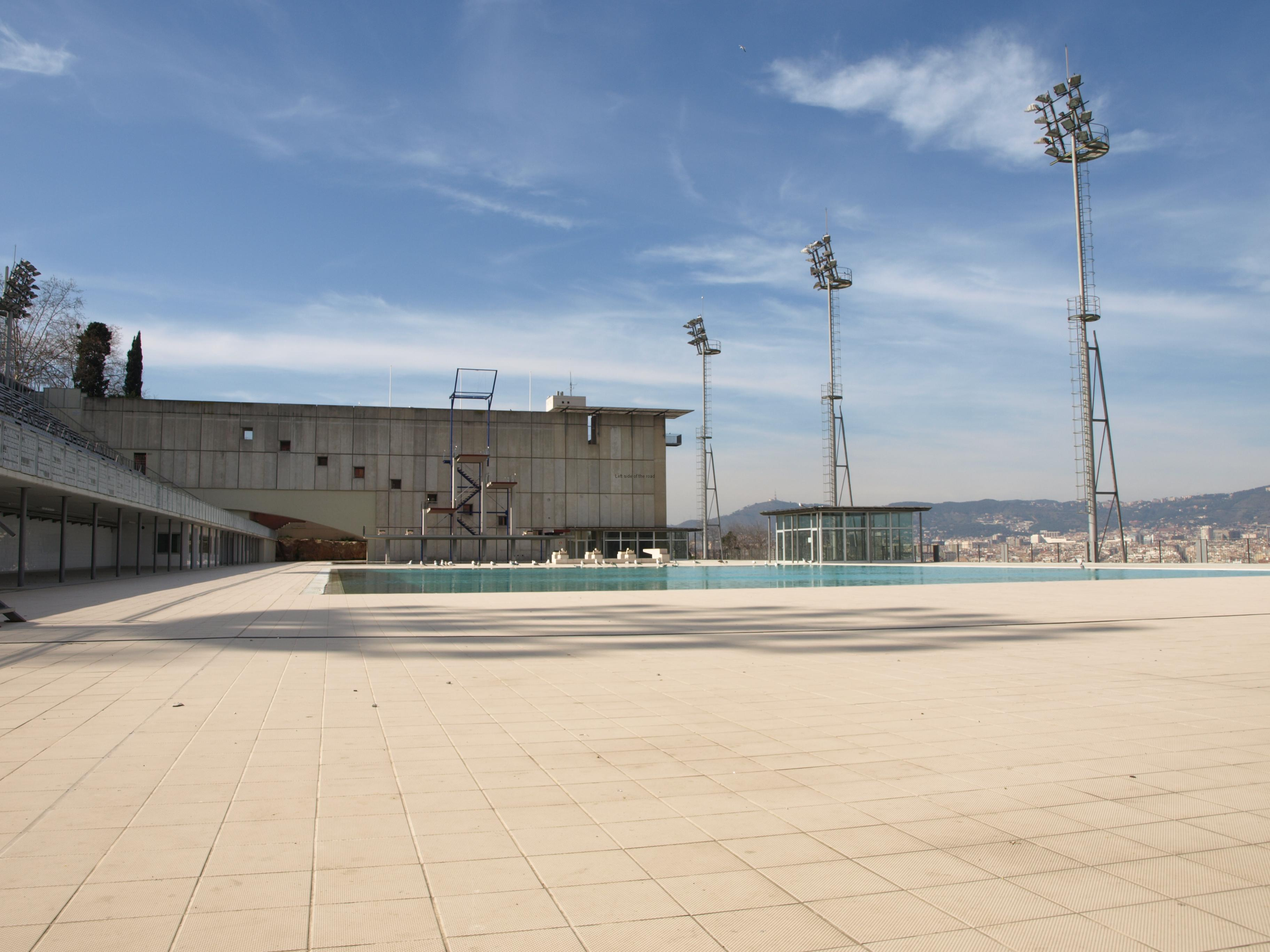 The 1992 Olympic Diving Pool in 2014