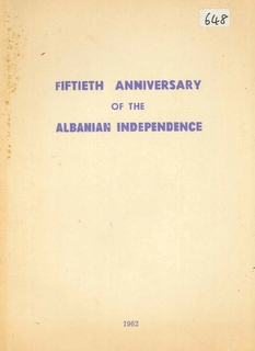 1962 Fiftieth Anniversay of Albanian Independence