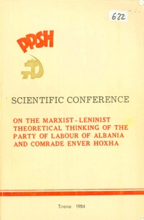 1984 Scientific Conference on the Marxist-Leninist Theoretical Thinking of the PLA