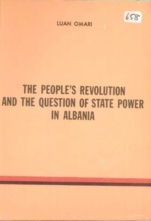 1986 The People's Revolution and the Question of State Power in Albania