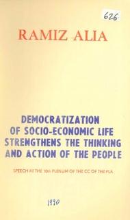 1990 Democratization of Socio-Economic Life