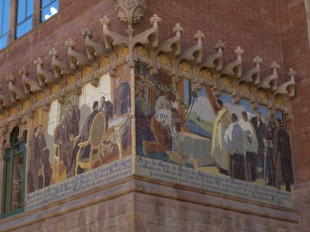 Hospital Santa Creu i Sant Pau - Mosaic