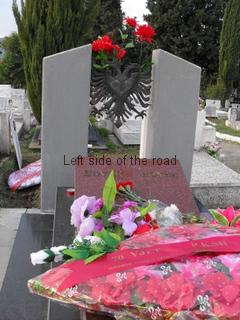 Visiting Enver Hoxha' Grave in Tirana