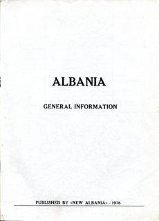Albania - General Information 1976