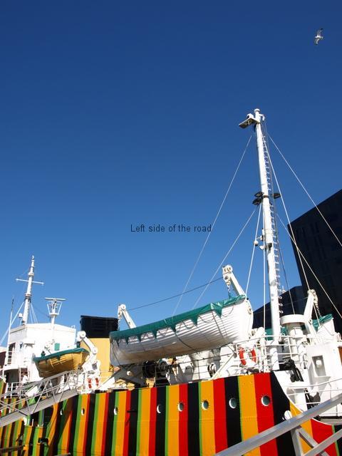 Dazzle Ship Liverpool Biennial 2014