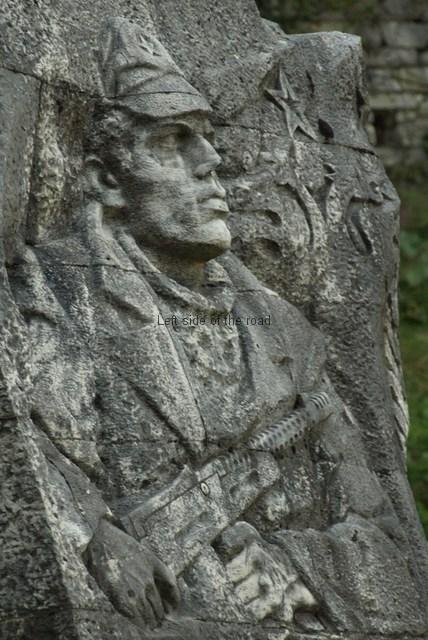 Partisan Memorial - Gjirokastra