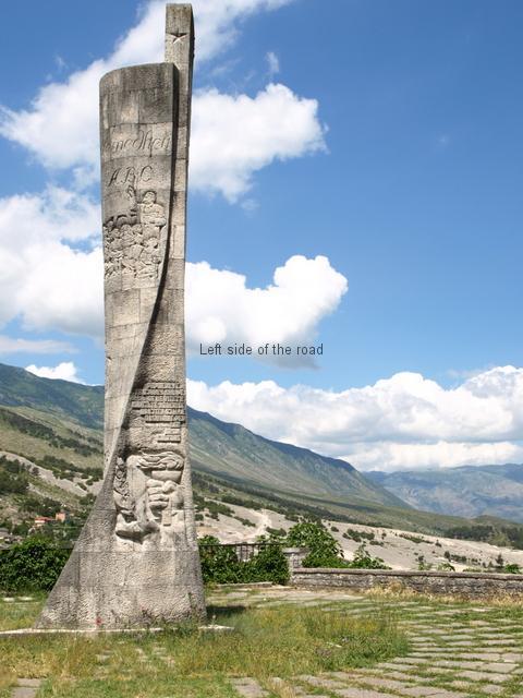 Education Monument - Gjirokaster