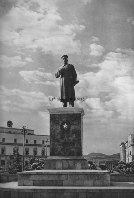 JV Stalin - Skenderberg Square, Tirana