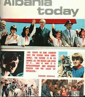 Albania Today No 5 (6) 1972 - pt 1