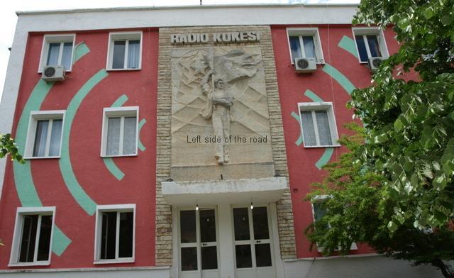 Bas relief on Radio Kukesi - 08