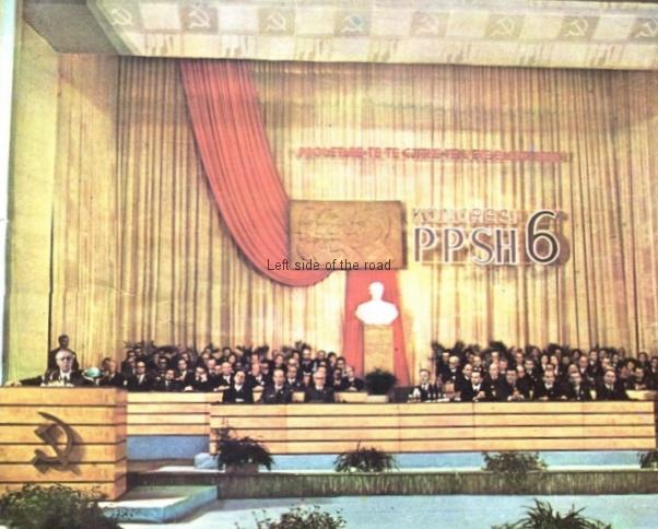 6th Congress of The Party of Labour of Albania, 1971