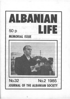 Albanian Life - No 32 - 1985