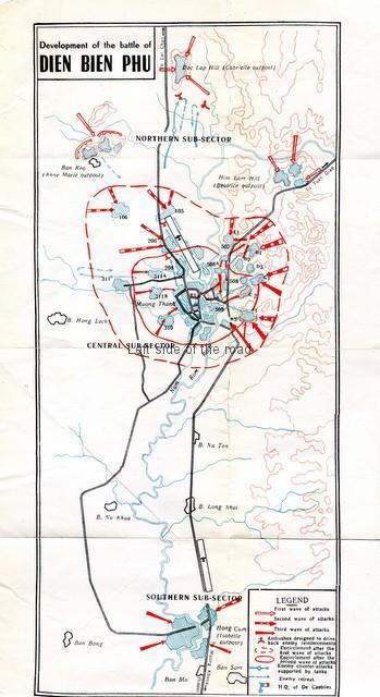Dien Bien Phu Map