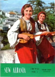 New Albania, No 1 1970