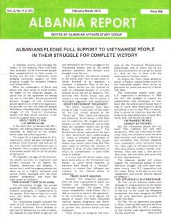 Albania Report Vol 3, No 4, 1973