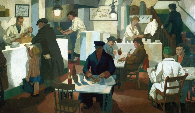 The Fried Fish Shop - Clifford Rowe