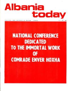 Albania Today No 6 (85) 1985