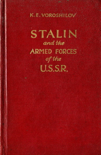 Stalin and the Armed Forces of the USSR - KE Voroshilov, 1951
