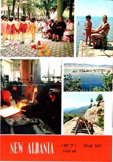 New Albania - No 4 1971