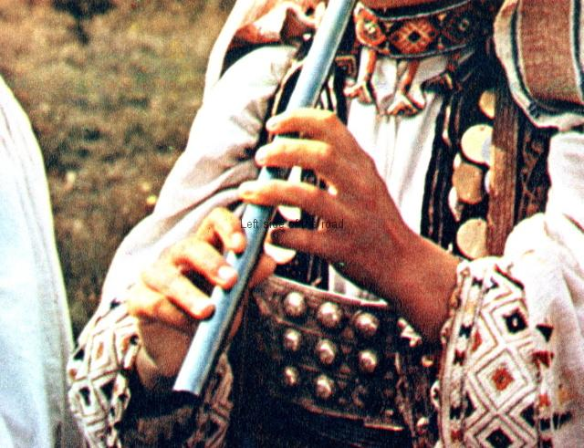 Albanian traditional musical instruments - flute