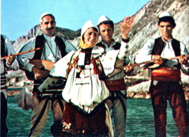 Albanian traditional musical instruments - group