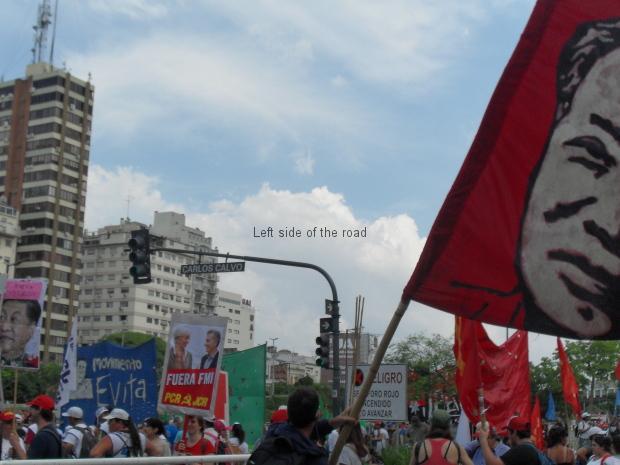 Anti G-20 Demonstration - November 2018