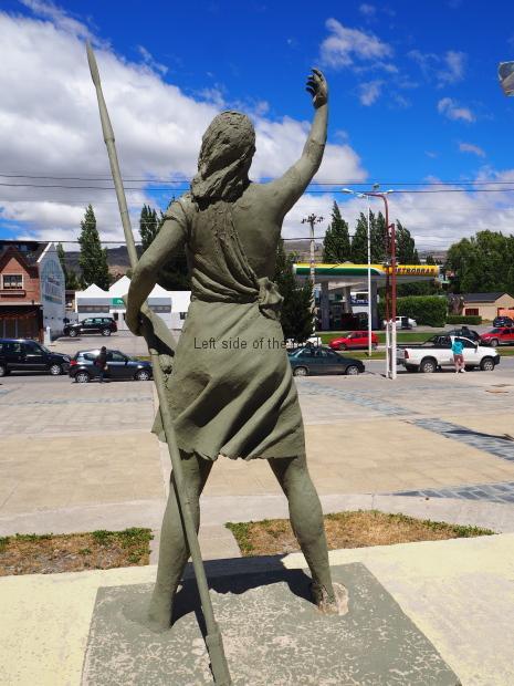 Malvinas Heroes Square - El Calafate
