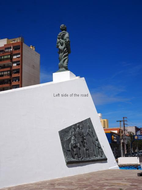 Welsh Monument - Puerto Madryn, Argentina