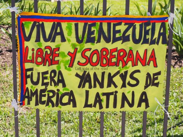 Fuera Yankys de America Latina