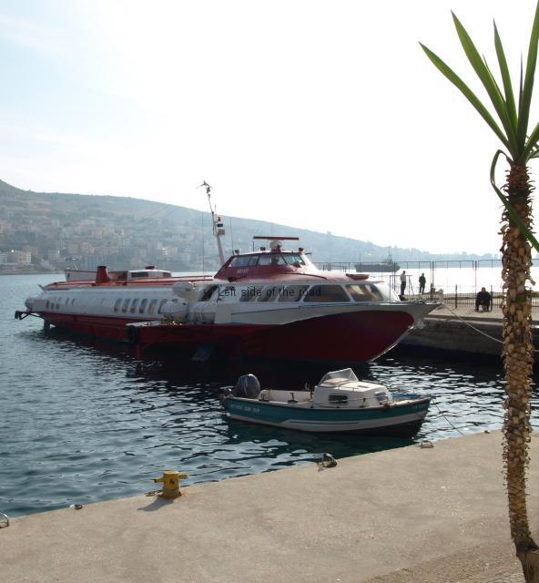 Hydrofoil Kristi - Saranda port