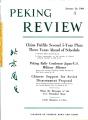 Peking Review 1960 - 04