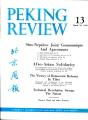 Peking Review 1960 - 13