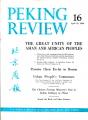 Peking Review 1960 - 16