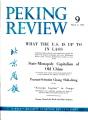 Peking Review 1961 - 09