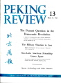 Peking Review 1961 - 13