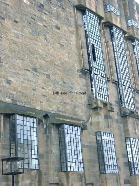 Burnt School West Wall before
