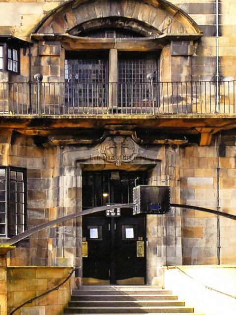 Entrance - the still not yet Burnt School