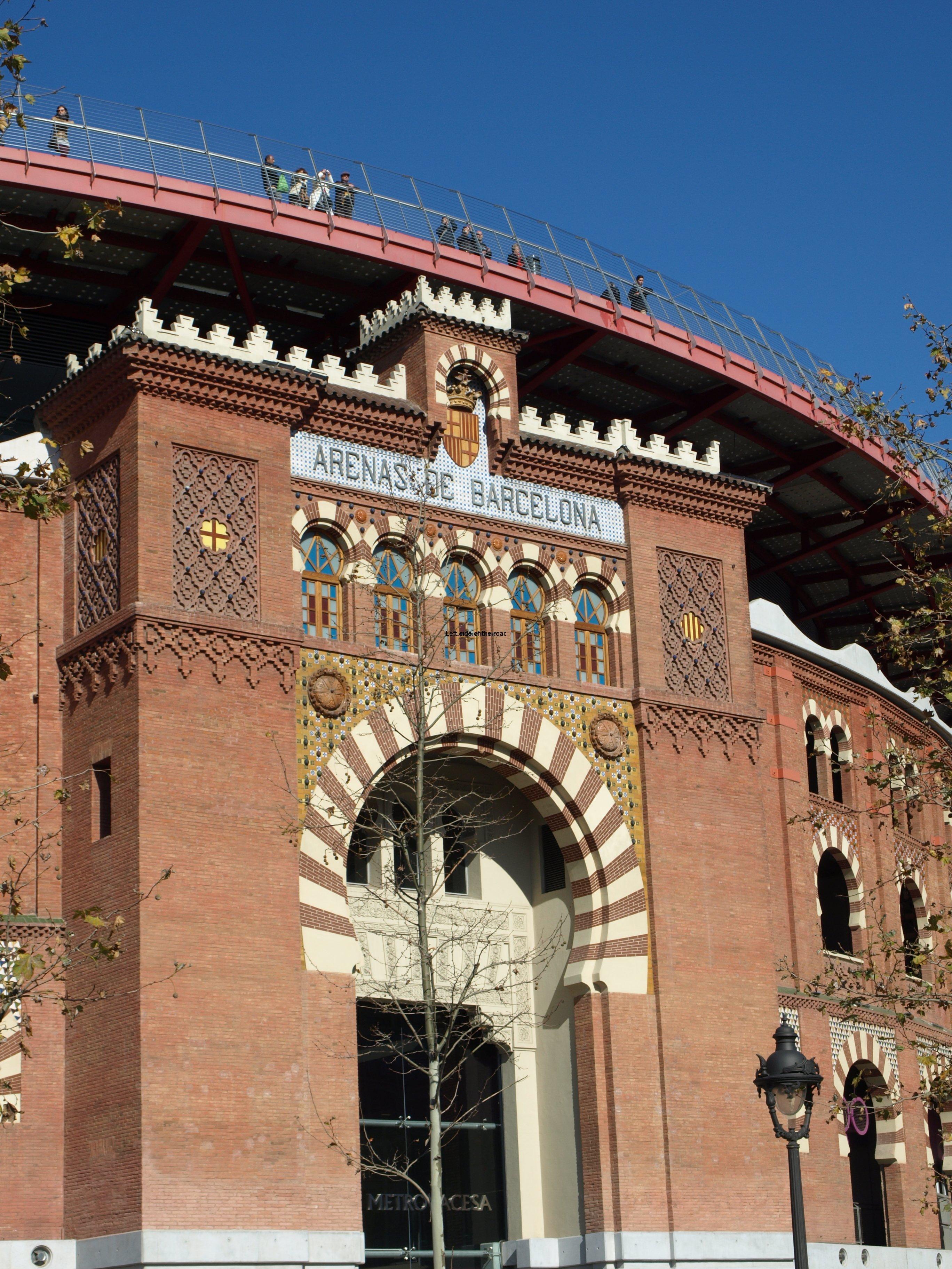 Arenas Bull Ring - Placa de Espanya - Barcelona