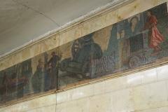 Engineering Works Mosaic - Avtozavodskaya Metro Station