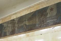 Red Air Force Mosaic - Avtozavodskaya Metro Station