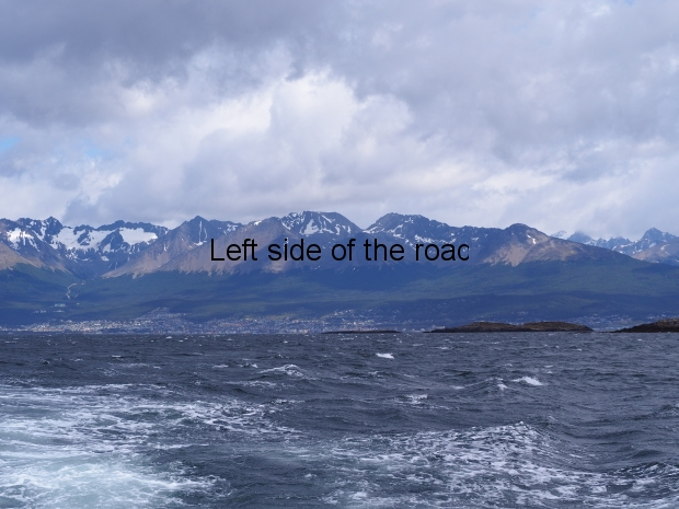 Beagle Channel and islands off Ushuaia
