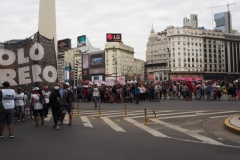 Buenos Aires Demonstration 26th November 2018