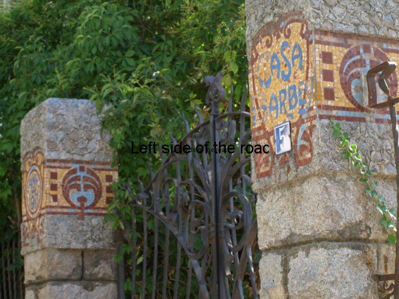 Entrance gate - Casa Barbey, La Garriga